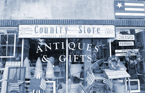 Country Store Cyanotype