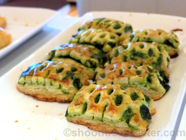 spinach & ricotta cheese tart