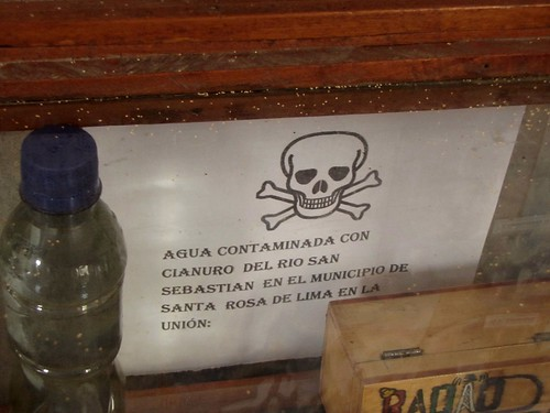 Agua contaminada de San Sebastian