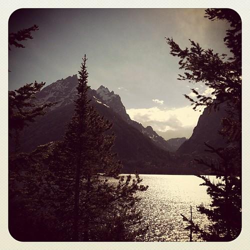 Jenny Lake Grand Teton Nat'l Park by stitchoutsidetheditch