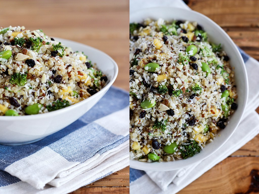 Quinoa crunch salad