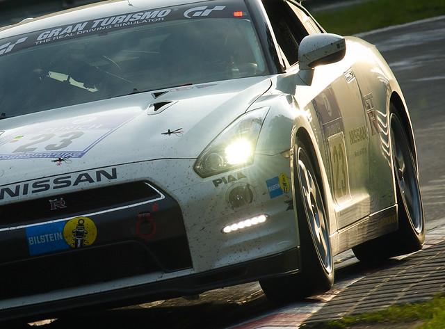 Nissan GT-R Nurburgring infinitif1challenge