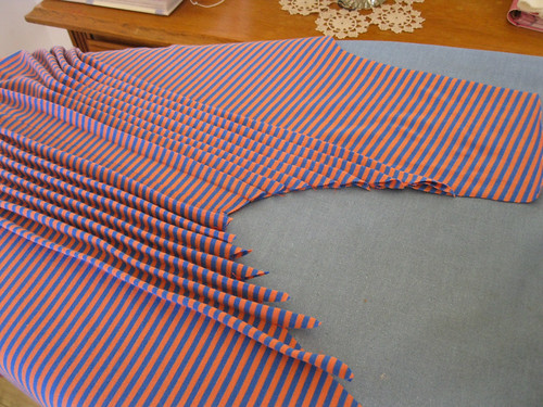 StyleARC Milly dress - sewing the front pleats