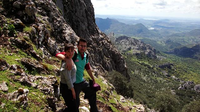 La Sierra de Grazalema desde el Coarzagal