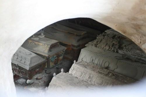 Wrangelska gravkammaren i Skoklosters kyrka