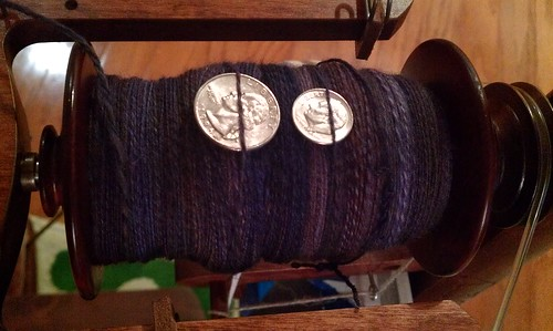 Day 21 spinning by Miss Knotty