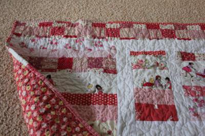 My Niece's new quilt
