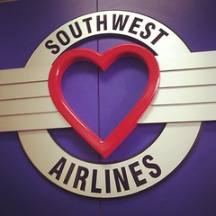 dear southwest, I've never flown you before. & I'm really excited. don't let me down. love, ruth ann