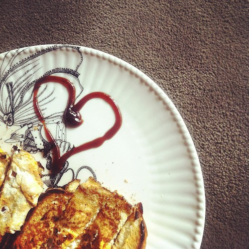 #photoadayjune On my plate... When my man makes me breakfast.