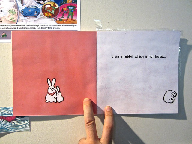 I am a rabbit / Nika Matsumoto (BCBF 2012). 12