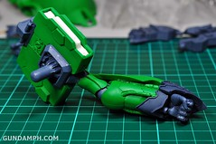 1-100 Kshatriya Neograde Version Colored Cast Resin Kit Straight Build Review (52)