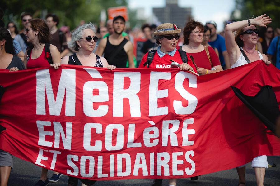 LE 22 JUIN, ENSEMBLE, ON MARCHE CONTRE LA HAUSSE ET LA LOI 78 Grande manifestation nationale contre la hausse des frais de scolarité et la loi 78 à Montréal [photos Thien V]