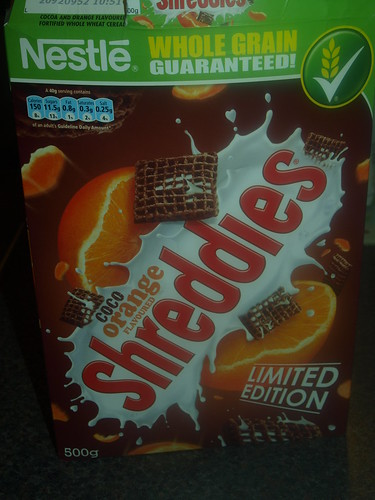Nestle Orange Coco Shreddies