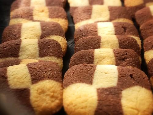Galletas de Almendra y Chocolate