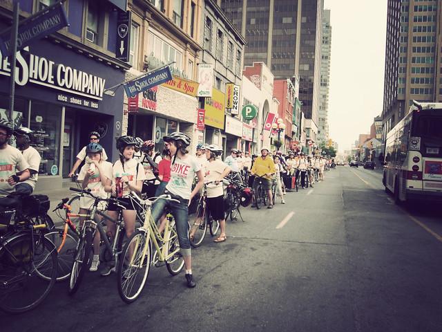 Toronto Bike to Work Day
