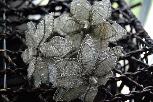 Silver Beaded Napkin Rings - 3