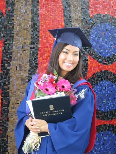 Graduated from SFU