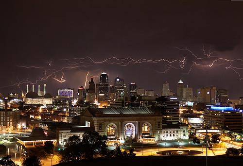Lightning Kansas City MO
