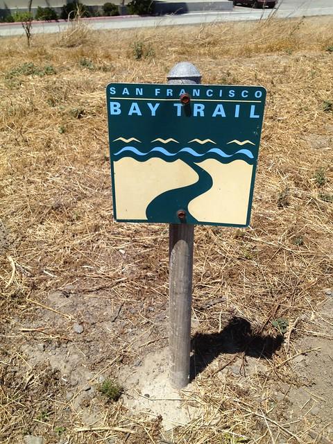 San Francisco Bay Trail sign