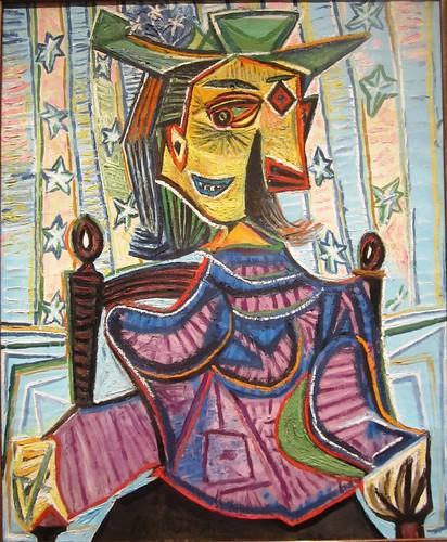 Retrato de una mujer hecho por Picasso