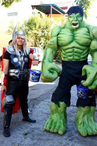 Thor & Incredible Hulk