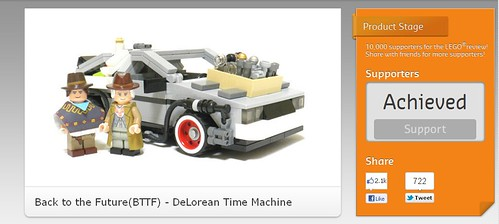 Back to the Future(BTTF) - DeLorean Time Machine