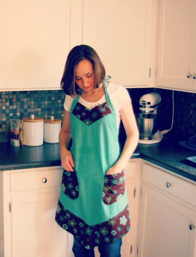 First Apron with pockets