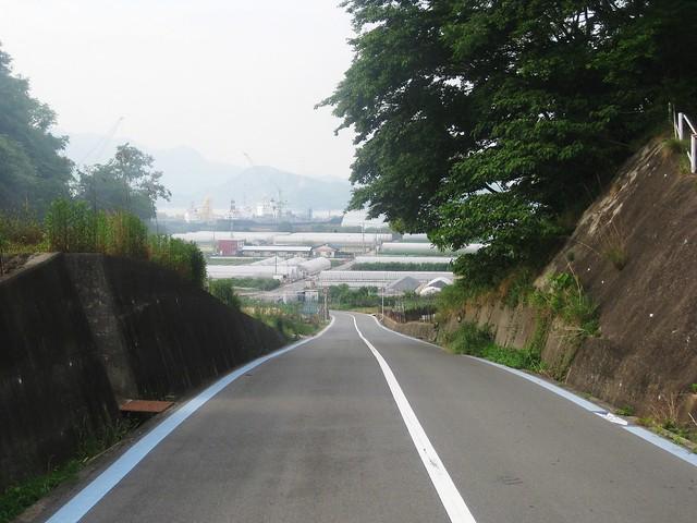 cycling downhill