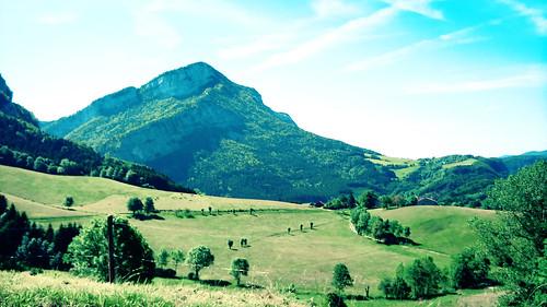 Col de Romeyère rencurel vercors