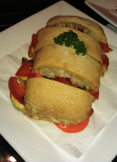 Bar Dolci Tomato & Cheese Sandwich