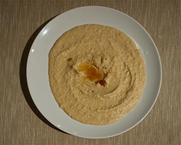 Chick pea hummus