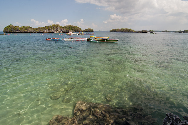 View from Hundred Islands (Quezon Island)