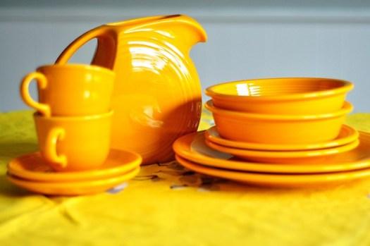 The Every Ten Years Fiesta Collector: Ooh, Marigold | Stop, Drop & Blog