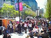 Vancouver food carts on a sunny day