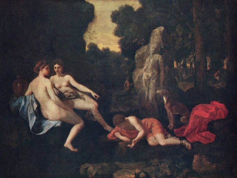 mirrors in water the story of narcissus art mirrors art nicolas poussin echo and narcissus 1635