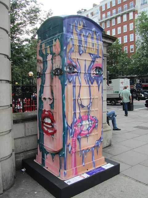 "74 - ""Leake St Hot Lips"" by Mr Shiz in collaboration with Old Vic Tunnels (Baker Street)"