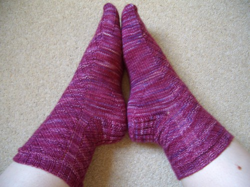 Rock + Purl Mystery Sock