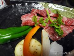 Traditional Japanese dinner 焼き肉