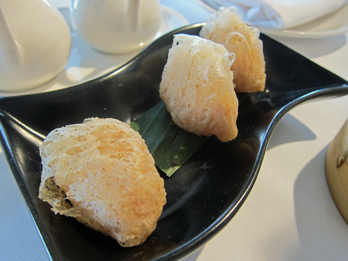 Deep-fried Yam Croquette with Seafood