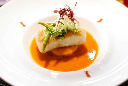 le cabillaud roasted cod bouillabaisse style