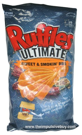 Ruffles Ultimate Sweet & Smokin' BBQ