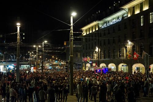 Strassenparty Vorplatz Reithalle