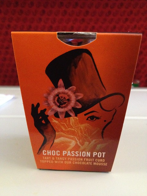 Gu choc passion pot - Virgin Atlantic