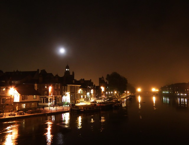 River Ouse by night - York
