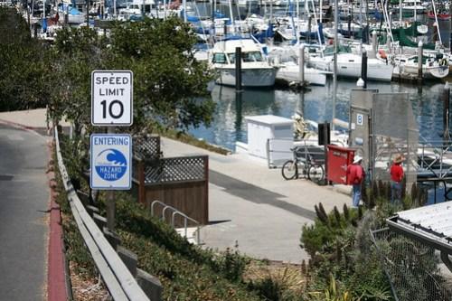 Entering Tsunami Hazard Zone