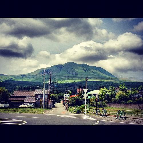 Sadly leaving #Aso #mtaso #kyushu #japan