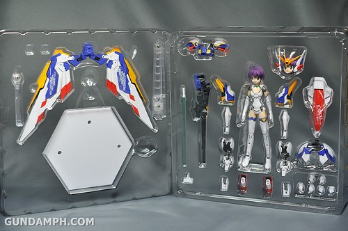 Armor Girls Project MS Girl Wing Gundam (EW Version) Review Unboxing (13)