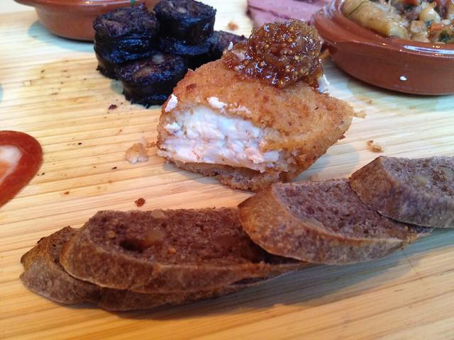 Fried Sonoma goat cheese - LaSalette Restaurant