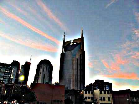 149366 Nashville Sunset (HDR) by AWJ-photography