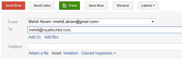 Track email when it is opened by using Right Inbox | Royal
